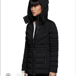 NWT Mackage Patsy Hooded Down Coat Jacket - XS
